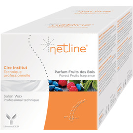 Cire institut fruits des bois 2x250ml - netline -223854
