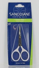 Ciseaux à ongles courbes bébé - soins maison - sanodiane -5680