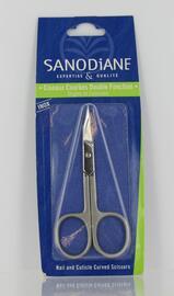 Ciseaux courbés double fonction - soins pédicure et manucure - sanodiane ongles et cuticules-5649