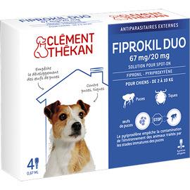 Clement thekan fiprokil duo chien 2-10kg - clement-thekan -205119