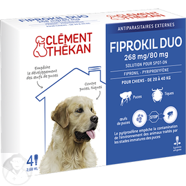 CLEMENT THEKAN Fiprokil Duo Chien 20-40kg - Clement-thekan -205116