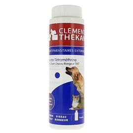 Clement thekan poudre antiparasitaire tmt - 150.0 g - puces et tiques - clement-thekan Chien, chat, oiseaux, rongeurs-10292