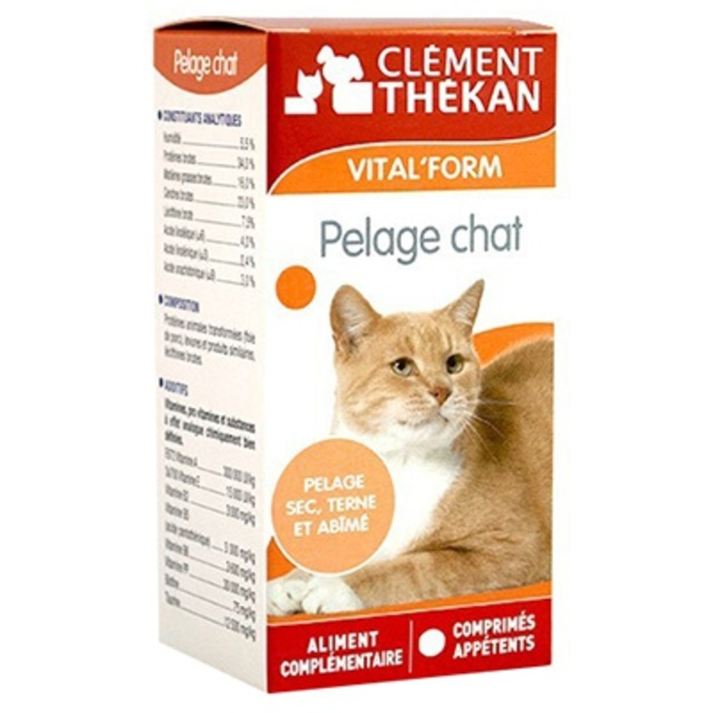 Clement thekan vital form pelage chat - 48 capsules - clement-thekan -146413