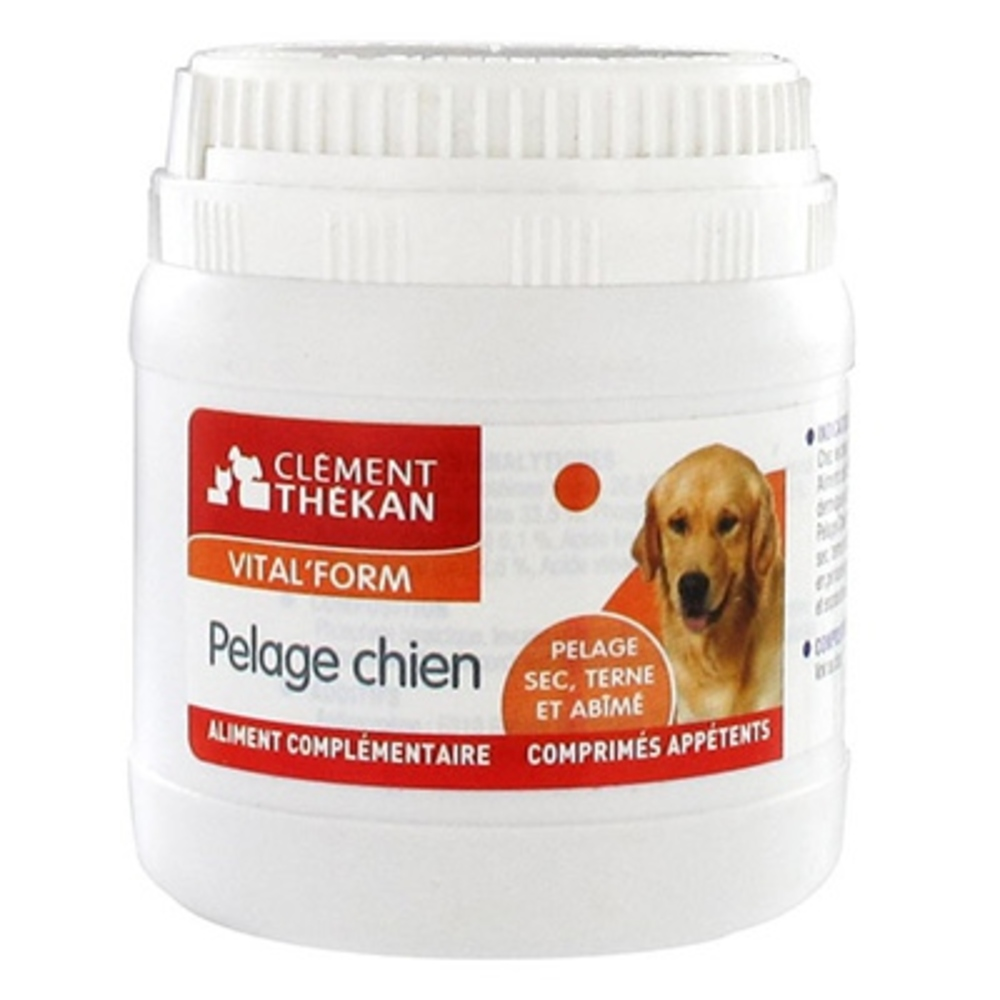 Clement thekan vital form pelage chien - 48 capsules - clement-thekan -146414