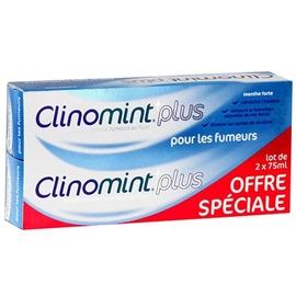 Clinomint plus pour les fumeurs - lot de 2 - clinomint -201940