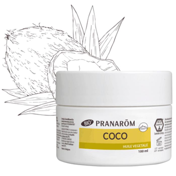 Coco bio huile végétale Pranarom-220953