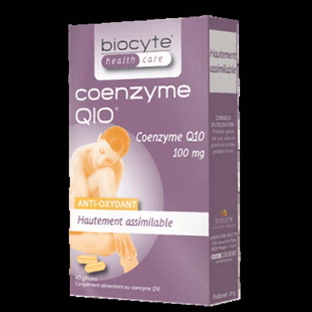 Coenzyme q10 - 40 gélules - divers - biocyte -188811