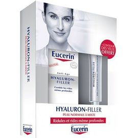 Coffret anti-rides hyaluron-filler 50ml peau normale à mixte - eucerin -222585