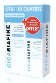 Coffret baume hydratant corps 200ml + baume crevasse 50ml offert - dermo-cosmétique - cicabiafine -138965
