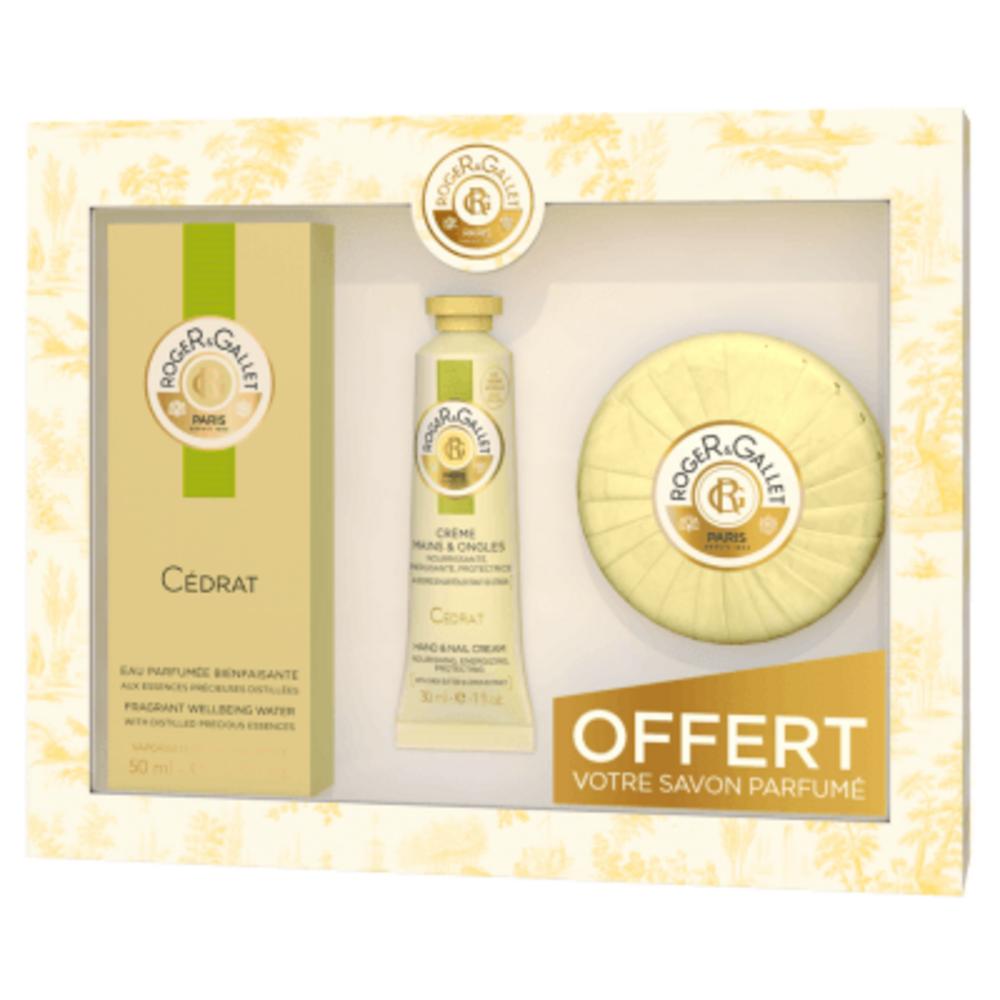 Coffret cédrat 50ml 2018 Roger & gallet-220969