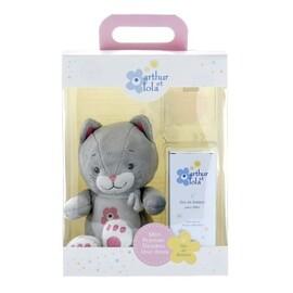 Coffret chat rose - arthur et lola -203658