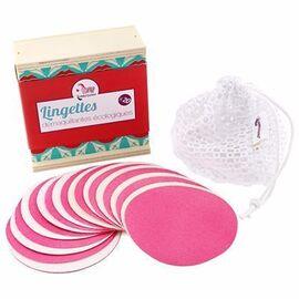 Coffret de 10 lingettes démaquillantes lavables - lamazuna -215083