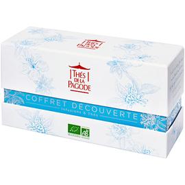 Coffret découverte infusions & thés - thés de la pagode -222725