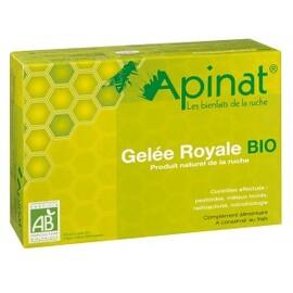 Coffret gelée royale pure bio - 40.0 g - gelée royale - apinat -14854