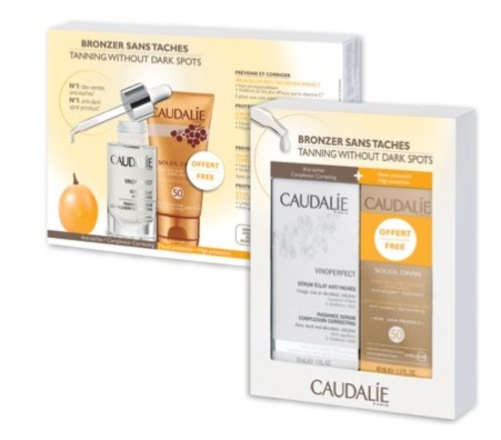 Coffret vinoperfect serum - 30.0 g - vinoperfect - caudalie sublime l'éclat du teint-141046