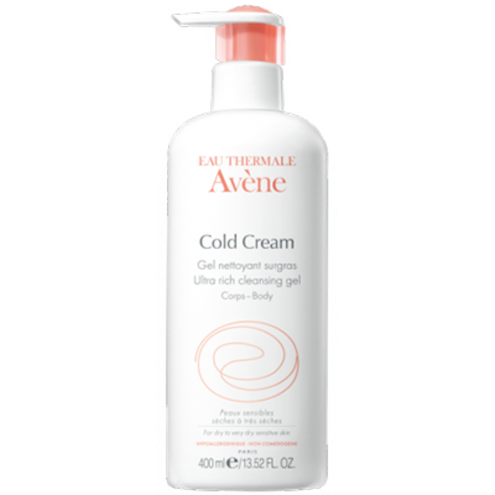 Cold cream gel nettoyant surgras - 400 ml - 400.0 ml - avène -145879