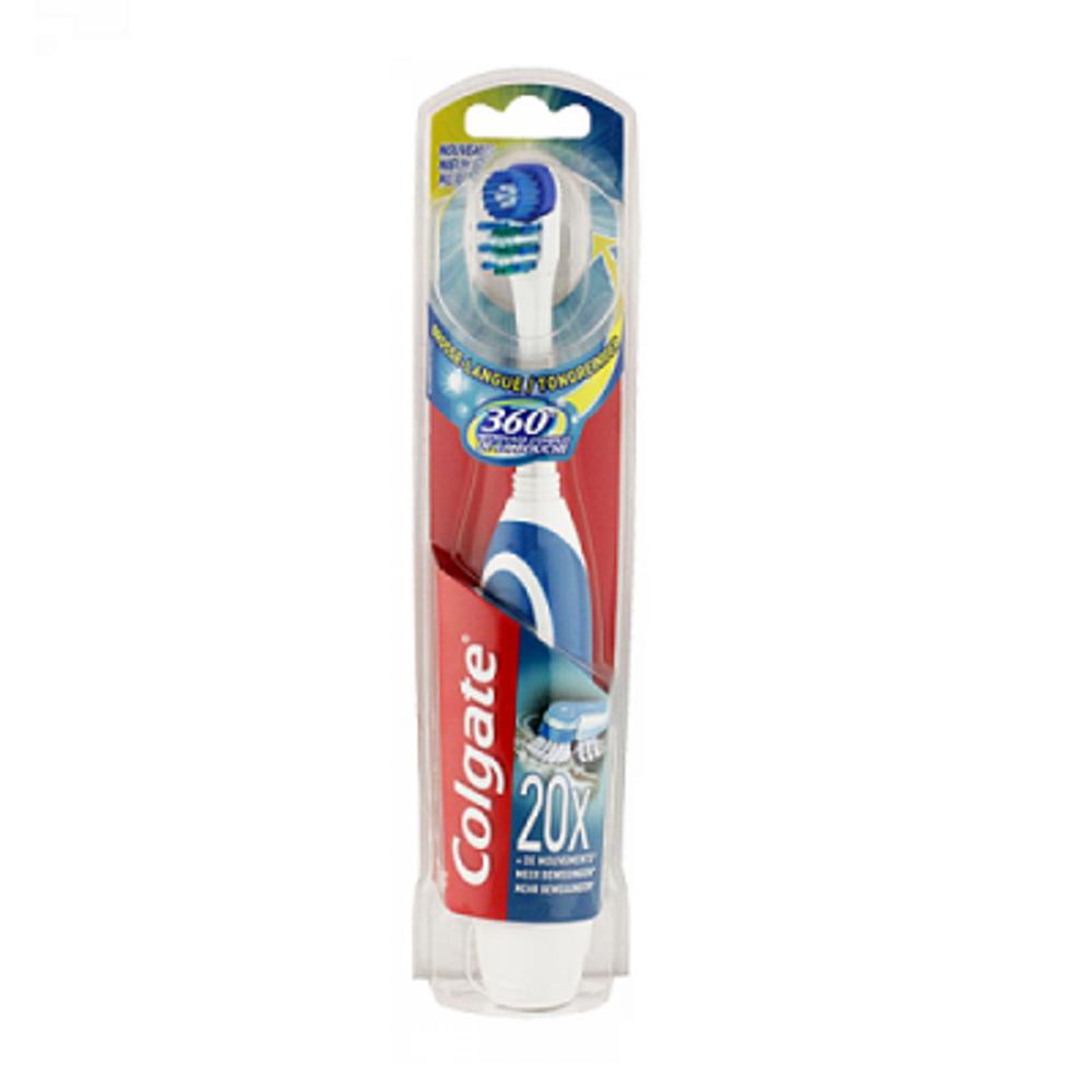 Colgate brosse à dents à piles actibrush 360° - colgate -201950