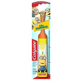Colgate brosse à dents à piles les minions +3 ans - colgate -206585