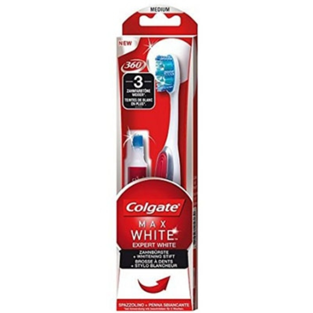 Colgate max white expert brosse à dents medium - colgate -205565