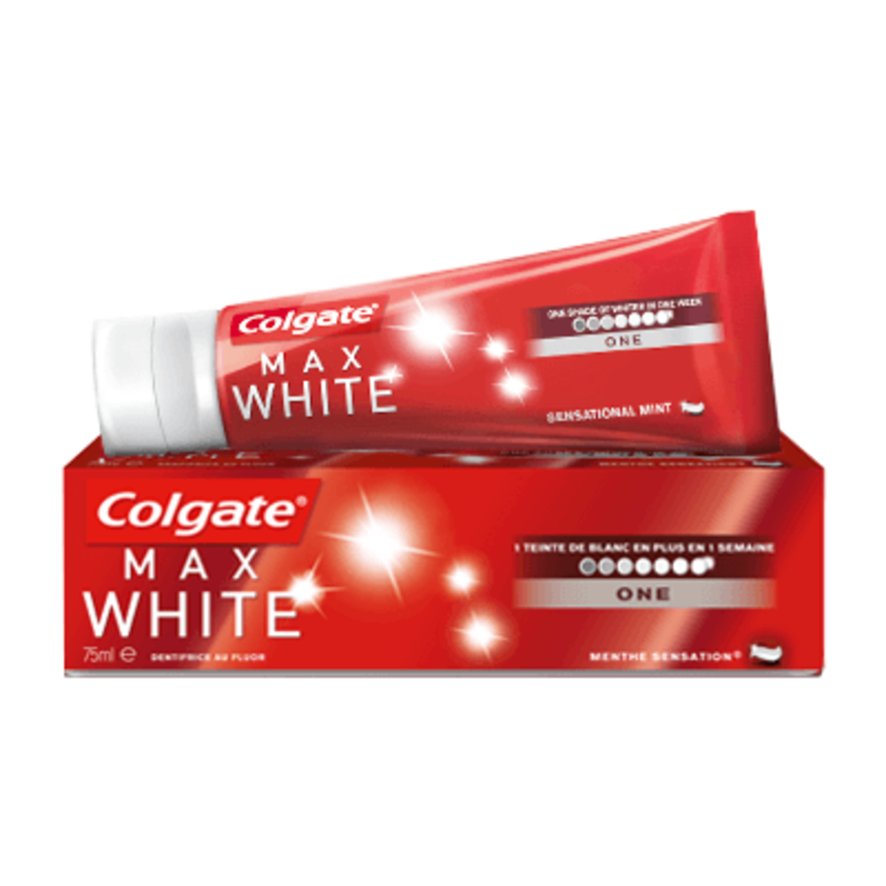 Colgate max white one dentifrice 75ml - colgate -215442