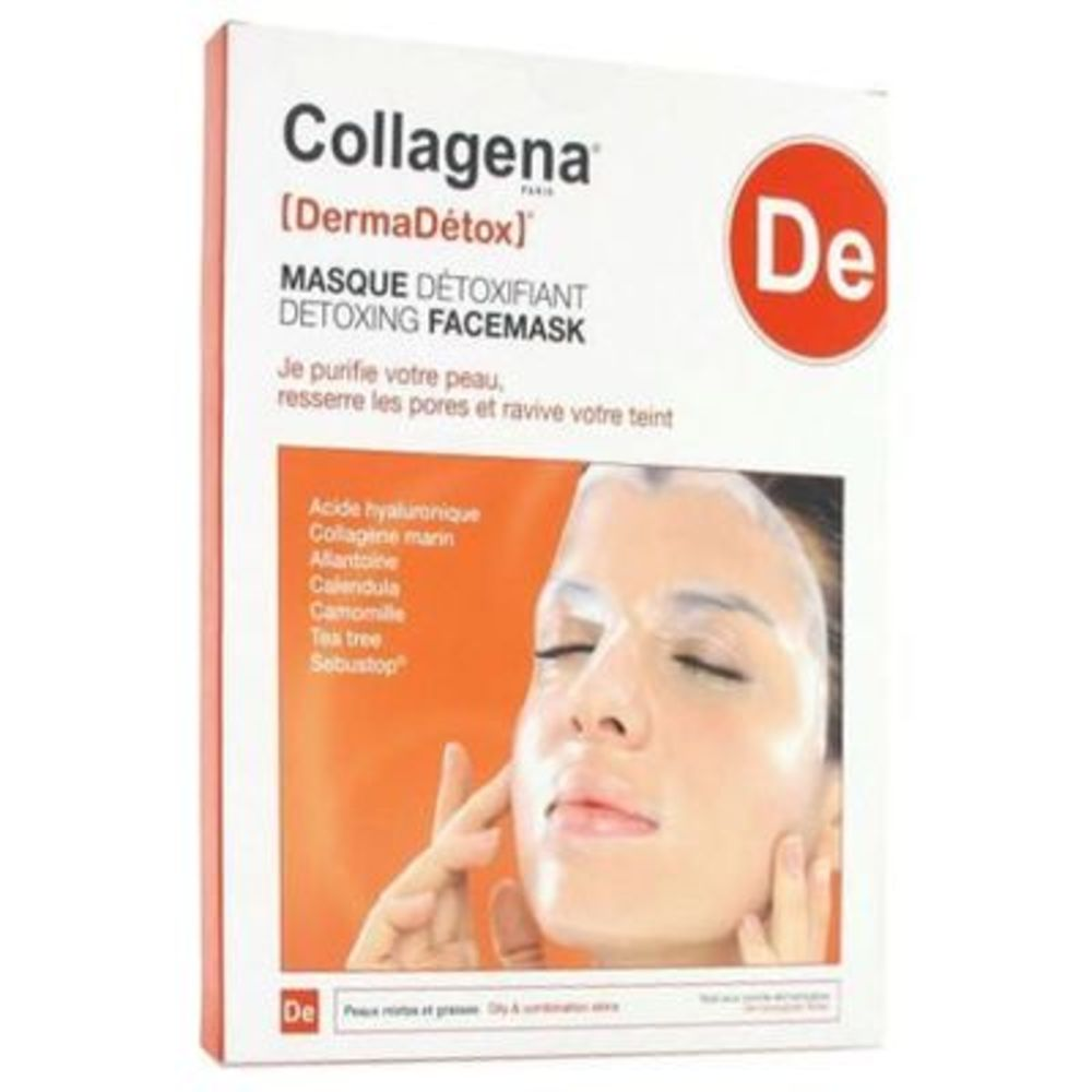 Collagena dermadetox masque hydrogel détoxifiant x5 - collagena -219070