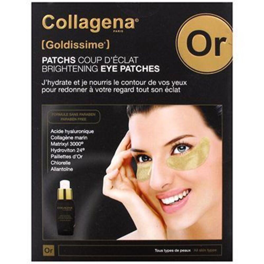 Collagena goldissime patchs yeux coup d'éclat x16 - collagena -216867