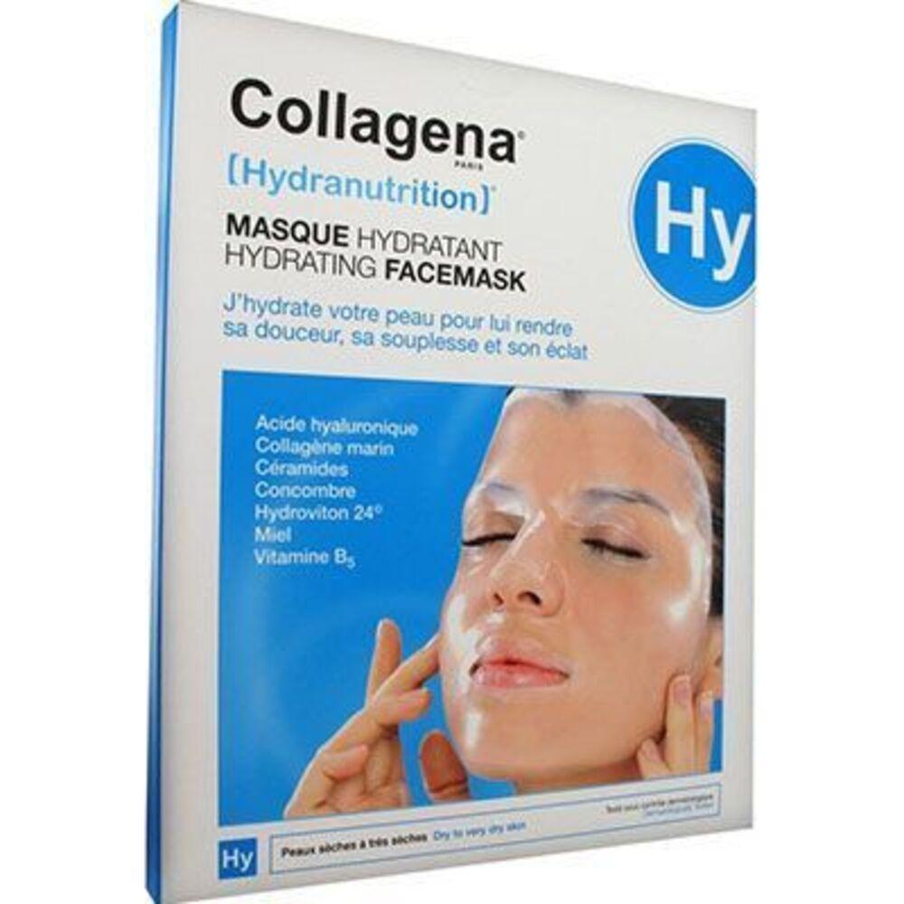 Collagena hydranutrition masque hydratant peaux sèches à très sèches x5 - collagena -226090