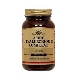 Collagène acide hyaluronique 30 tablets - 30.0 unites - spécialités - solgar -140974