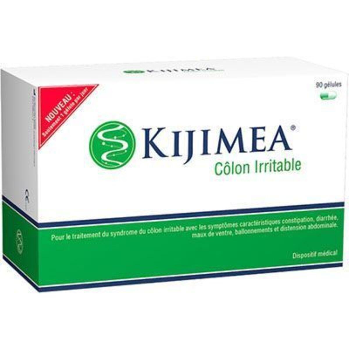 Côlon irritable 90 gélules - kijimea - Achat au meilleur ...
