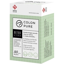 Colon pure - 80 gélules - swiss edilab -211055