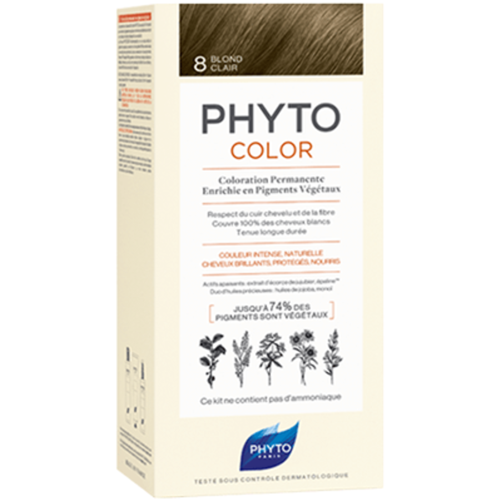 Color 8 blond clair Phyto-223187