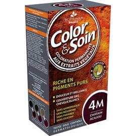 Color & soin châtain acajou 4m - 3 chenes -11879