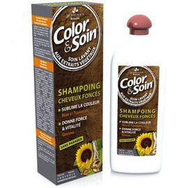 Color & soin shampooing cheveux foncés - 250.0 ml - 3 chenes -11832