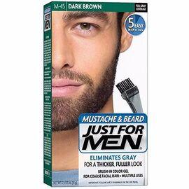 Coloration barbe châtain foncé m45 - just for men -215029