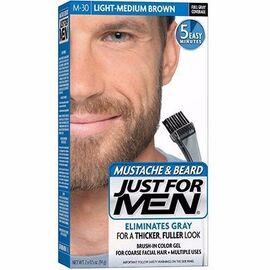Coloration barbe châtain moyen clair m30 - just for men -215032
