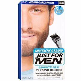 Coloration barbe châtain moyen foncé m40 - just for men -215168