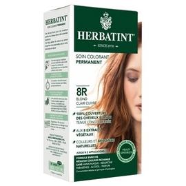 Coloration blond clair cuivré 8r - 120.0 ml - gel colorant - herbatint -5852
