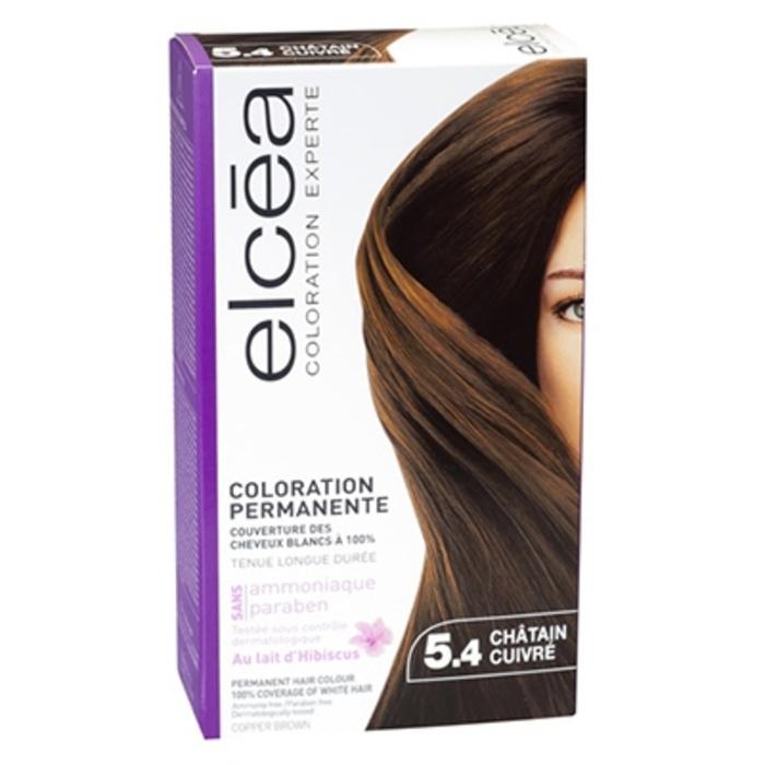 Coloration experte 6.34 châtain clair cuivré Elcea-143825
