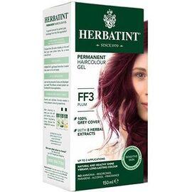 Coloration prune ff3 - 120.0 ml - gel colorant - herbatint -5857