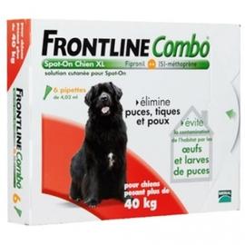 Combo chiens 40 à 60 kg - 6 pipettes - frontline -181194