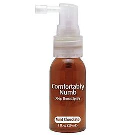 Comfortably numb choco-menthe spray désensibilisant gorge 29ml - pipedream -220994