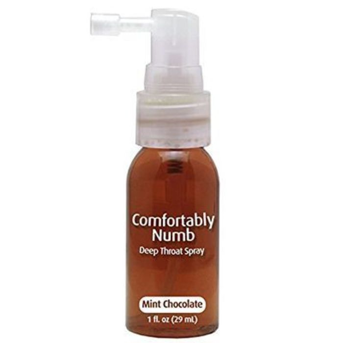 Comfortably numb choco-menthe spray désensibilisant gorge 29ml Pipedream-220994