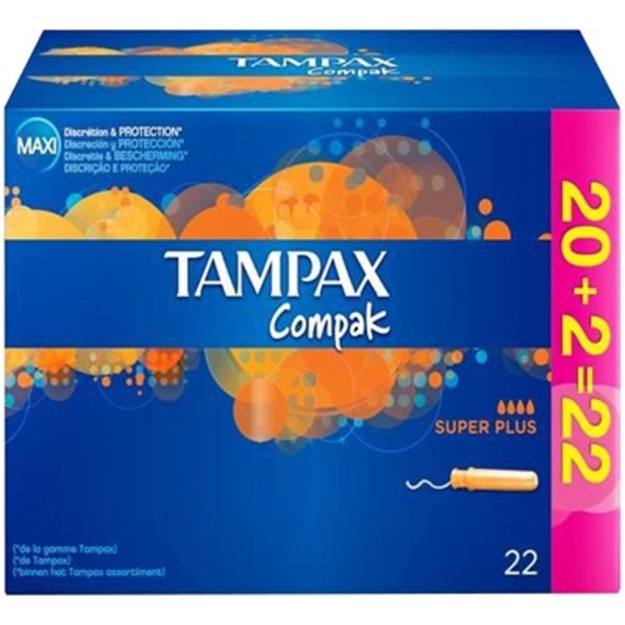 Compak super plus - promo Tampax-203195