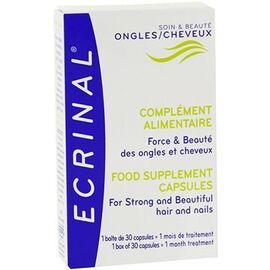 Complément alimentaire ongles et cheveux 30 capsules - ecrinal -185398