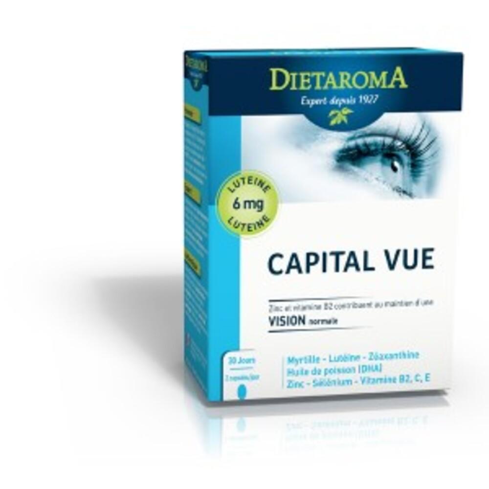 Complexe capital vue - 60.0 unites - anti-âge /bien être - diétaroma -6435