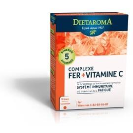 Complexe fer - cure 1mois - 30.0 unites - equilibre de l'organisme - diétaroma -6431