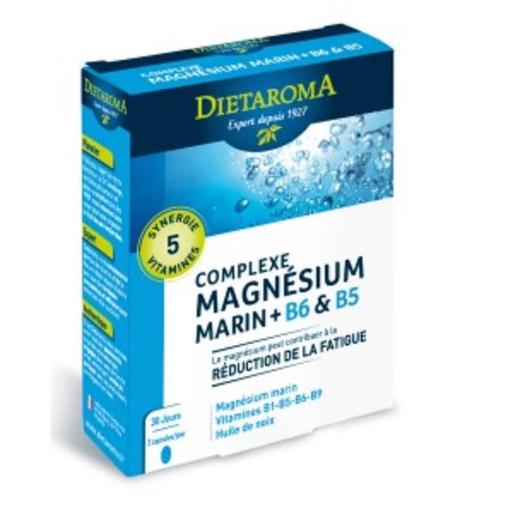 Complexe magnésium - 60.0 unites - equilibre de l'organisme - diétaroma -6430
