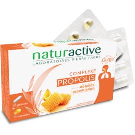 Complexe propolis - 10 gélules + 10 capsules - naturactive -215455