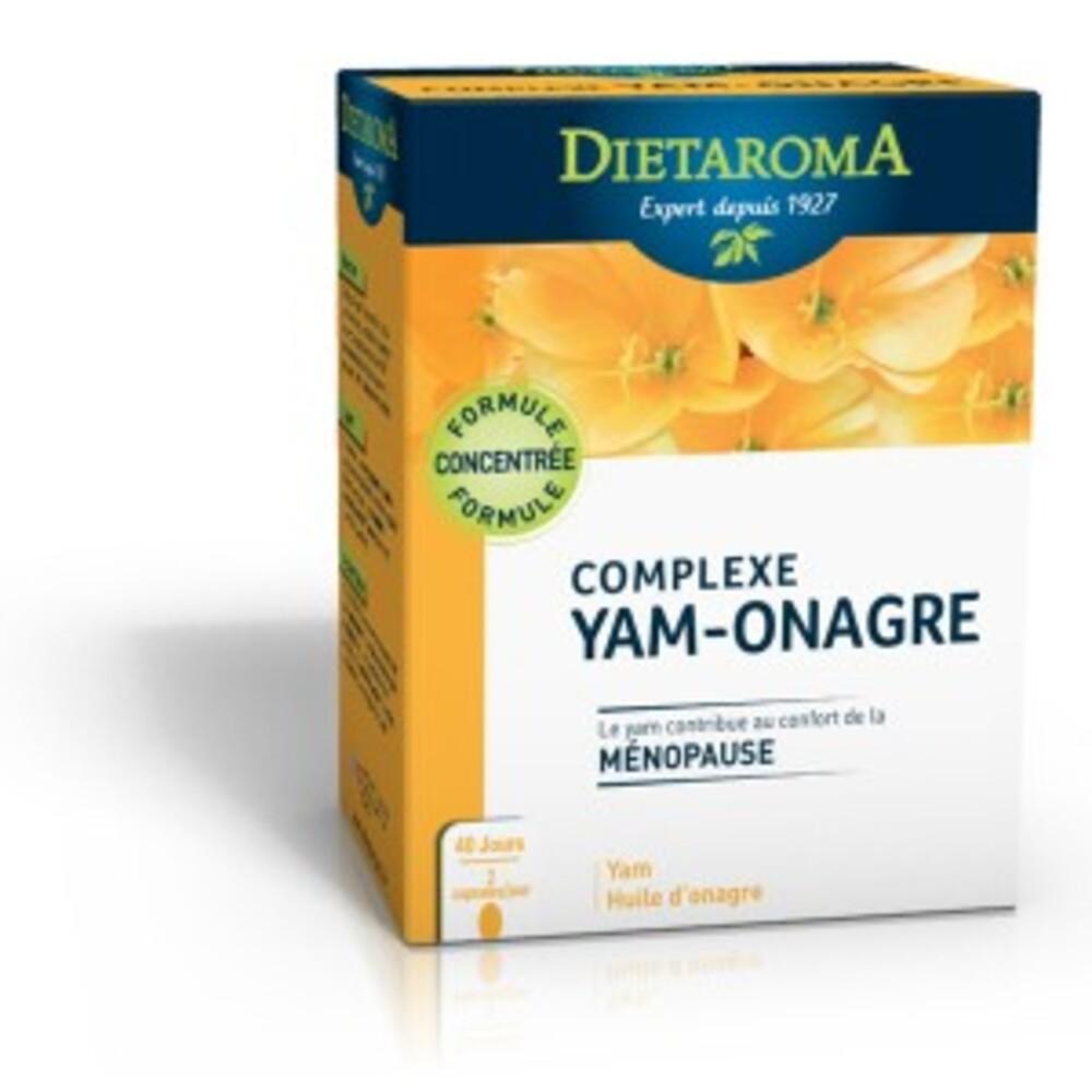 Complexe yam / Onagre - 80.0 unites - Beauté/Femme/Minceur - Diétaroma Confort du cycle et ménopause-6443