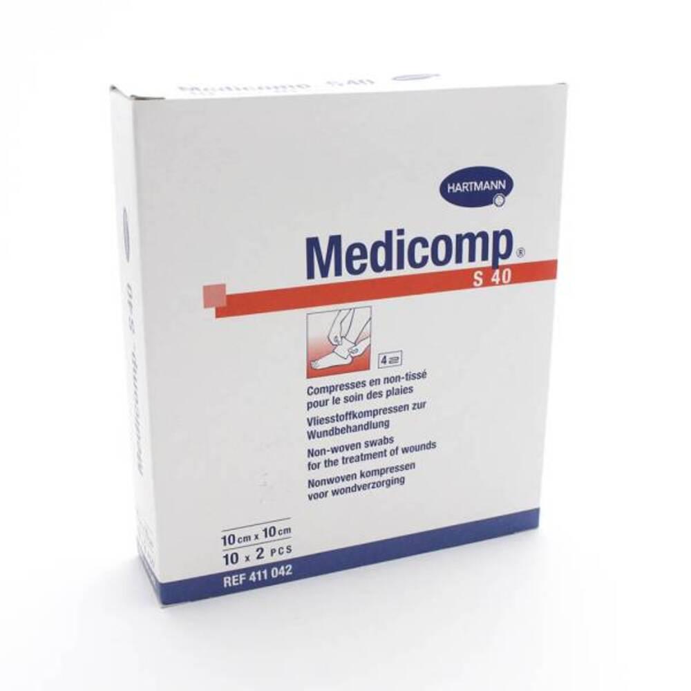 Compr  10cmx10 bt 10 n tisse Medicomp-148578